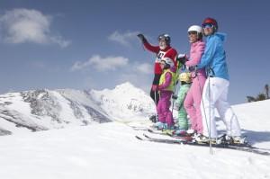 Katschberg, Familie, Skitag_4