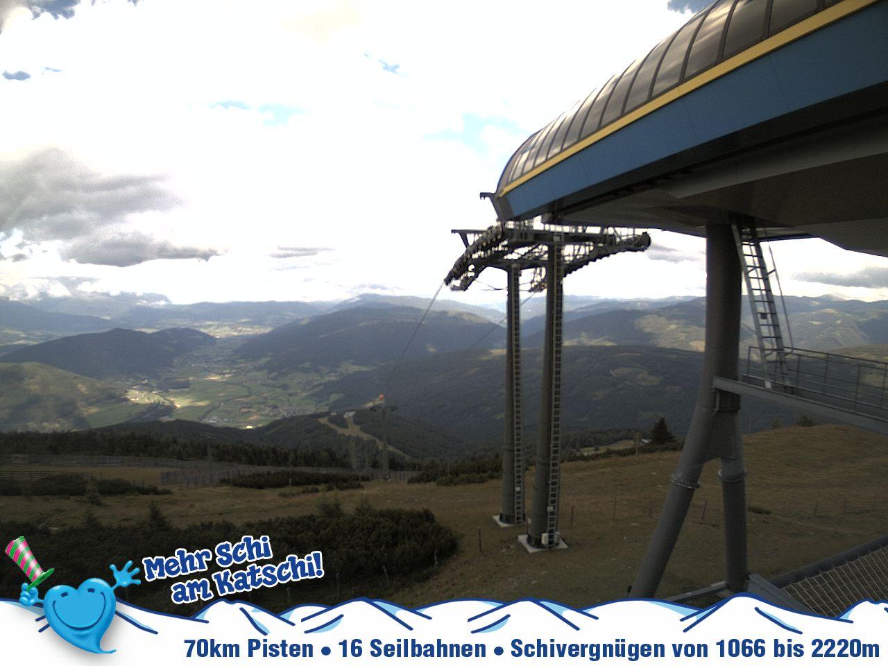 Katschberg webcam - Aineck top ski station Silverjet